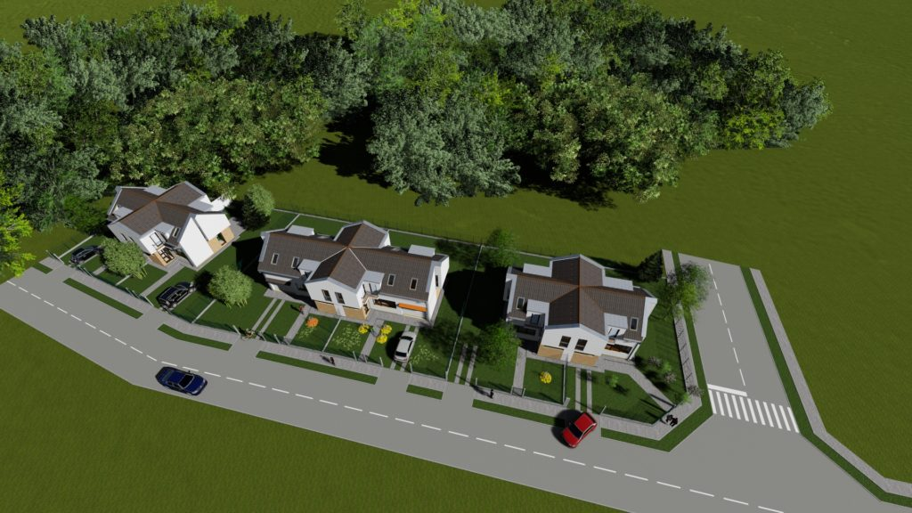 Dream-Home Lakópark felülnézet